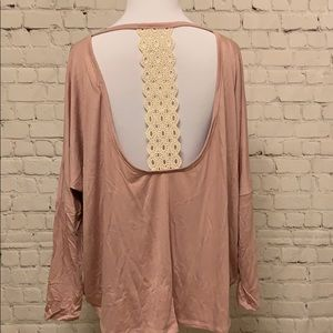 Tops - Dusty Pink Dressy Top💕